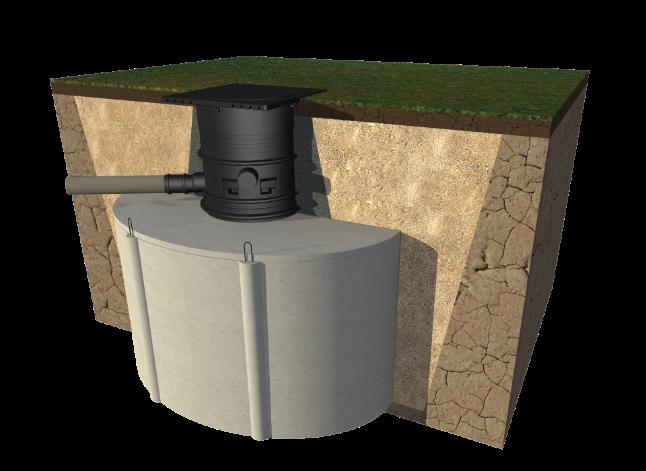 Betonowe zbiorniki